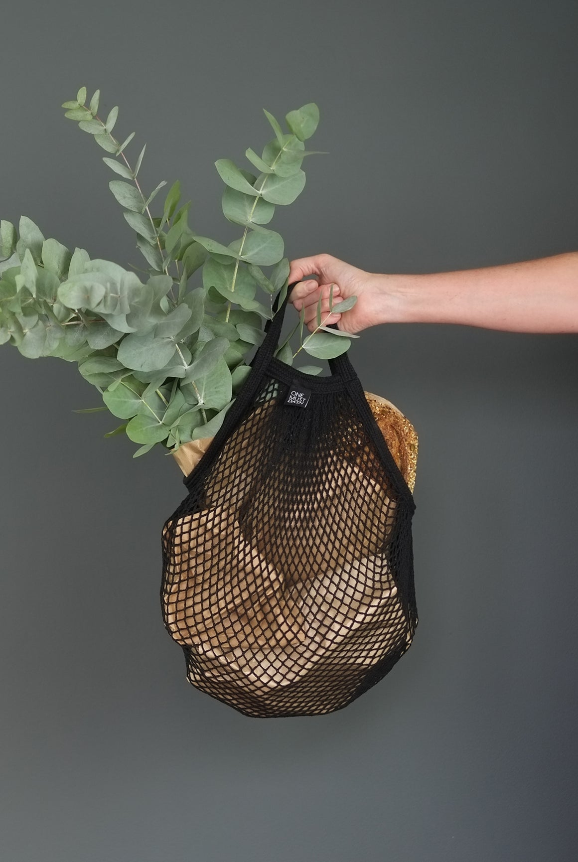 NET BAG BLACK