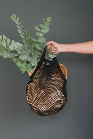 WHOLESALE NET BAG BLACK