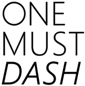 One must dash