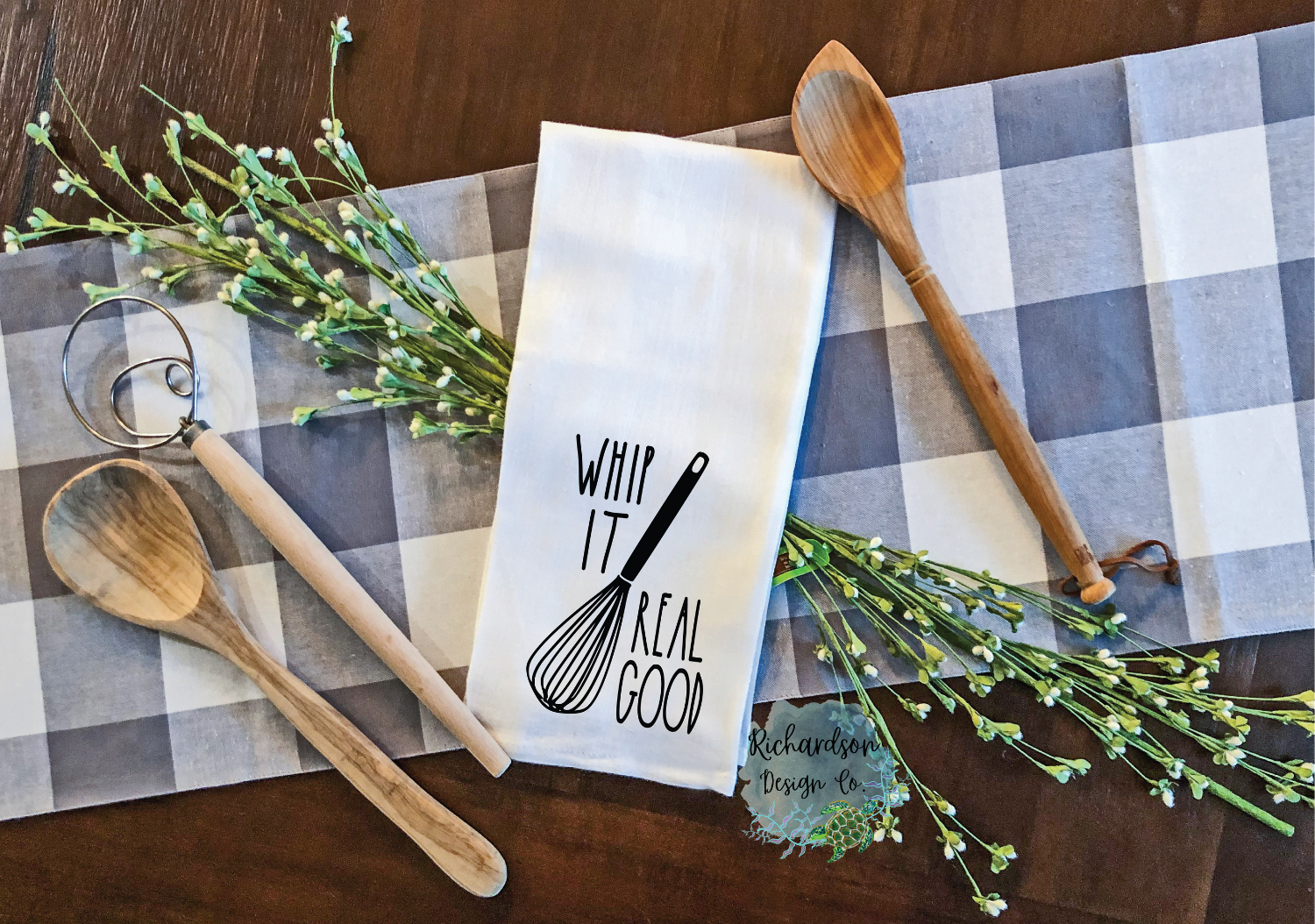 Whip It Real Good Kitchen Towel