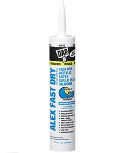 DAP Alex Plus Fast Dry White Caulk 18425