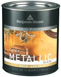 620 Studio Finishes Metallic Glaze Quart