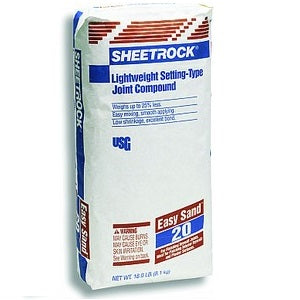 USG Sheetrock Easy Sand 20 Minute 18lb Bag