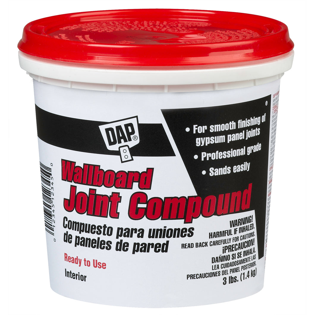 DAP Wallboard Joint Compound 3LB