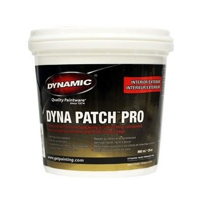 Dynamic INT/EXT Patch Pro Spackling 16oz