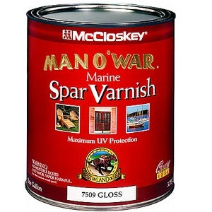 McCloskey Man-O-War Spar Varnish Gloss