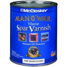 Load image into Gallery viewer, McCloskey Man-O-War Spar Varnish Semi Gloss