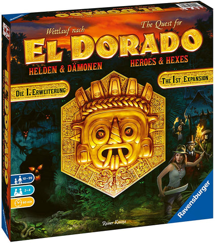 The Quest for El Dorado Heros & Hexes Expansion