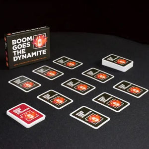 BOOM GOES THE DYNAMITE Card Game