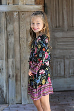 Load image into Gallery viewer, Summer Garden Kid's Shift Dress