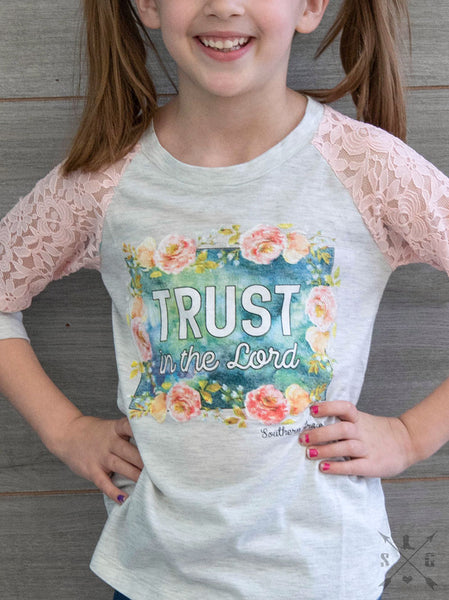 Trust in the Lord Girls Top