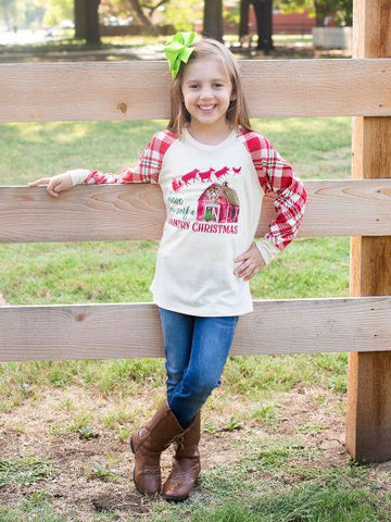 BLACK FRIDAY SPECIAL!!! Have Yourself A Country Christmas Shirt - Kids