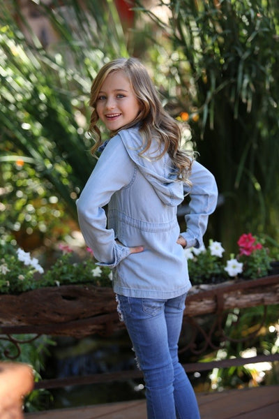 Vintage Wash Kid's Denim Jacket