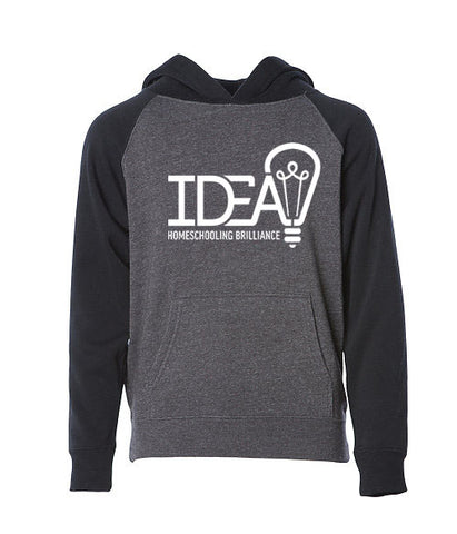 Youth Light Weight Pullover Hoody with Large IDEA Logo on Front