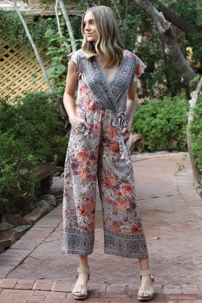 Rose For the Day Jumpsuit