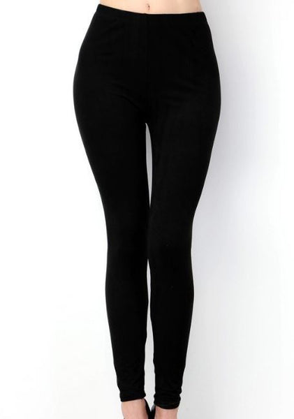 Solid Buttery Soft Peachskin Leggings OS