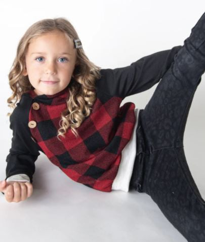 Kid's Buffalo Plaid Hoody