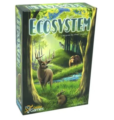 Ecosystem - An Habitat Building Card Game