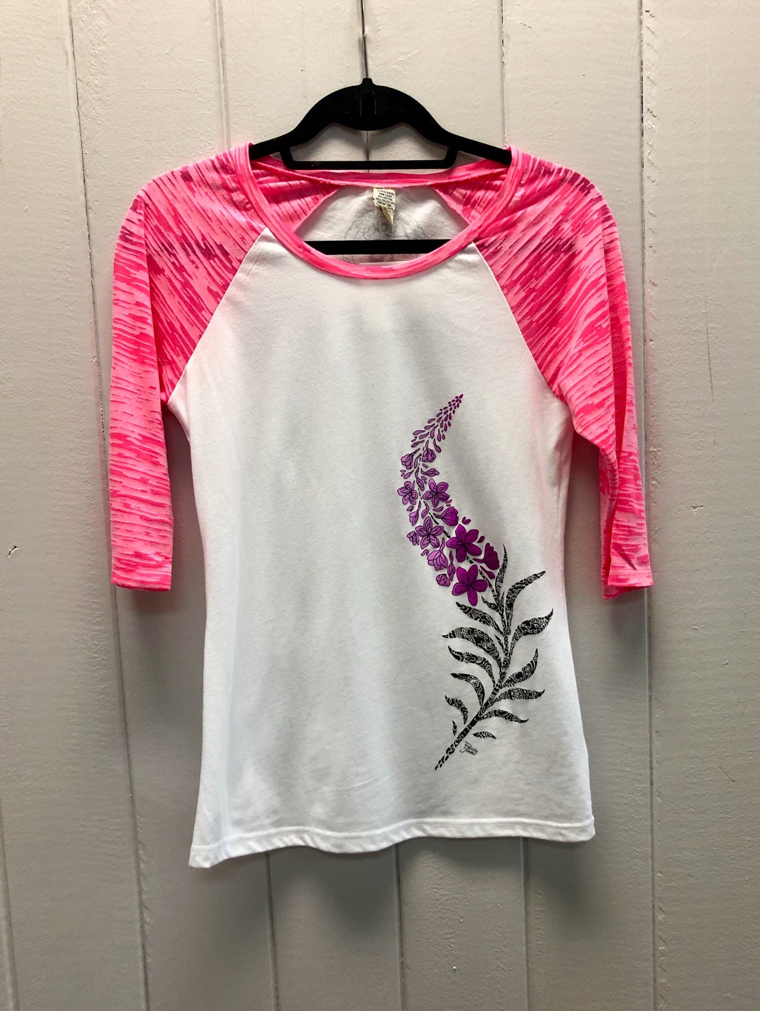 D. Fireweed 3/4 SL Burnout Pink