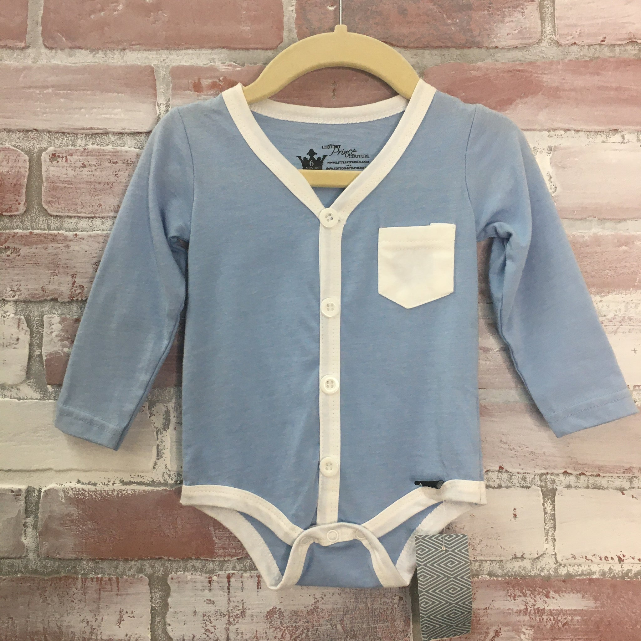 Littlest Prince Couture Bodysuit