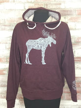 Load image into Gallery viewer, D. Moose Unisex 2- String Pullover Hoody