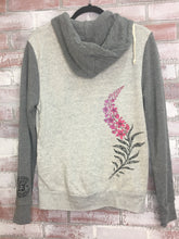 Load image into Gallery viewer, Doodle Fireweed Rocky Zip Hoody Womens