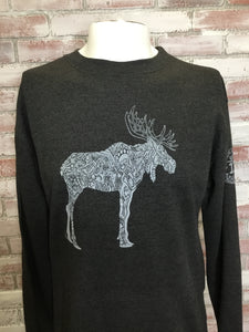Moose Men's Crew Sweatshirt