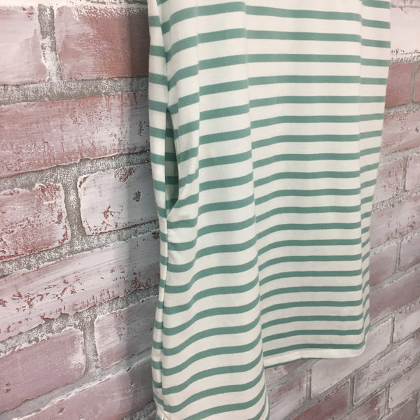 GG Round Neck Striped Dress - Kids