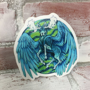 Pegasus Moose Sticker