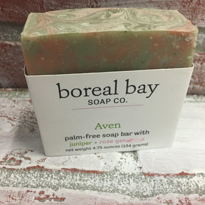 Boreal Bay Handcrafted Soap Aven