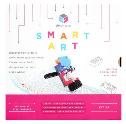 Smart Art Circuit Cubes Kit