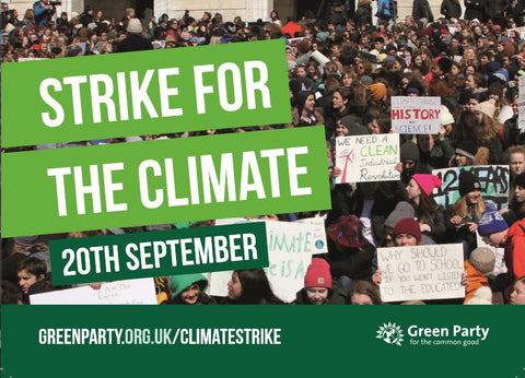 Climate Strike flyers (x500)