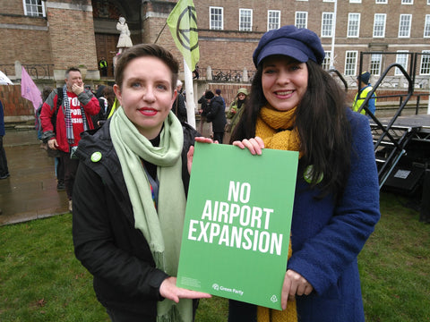 No Airport Expansion placards x 10