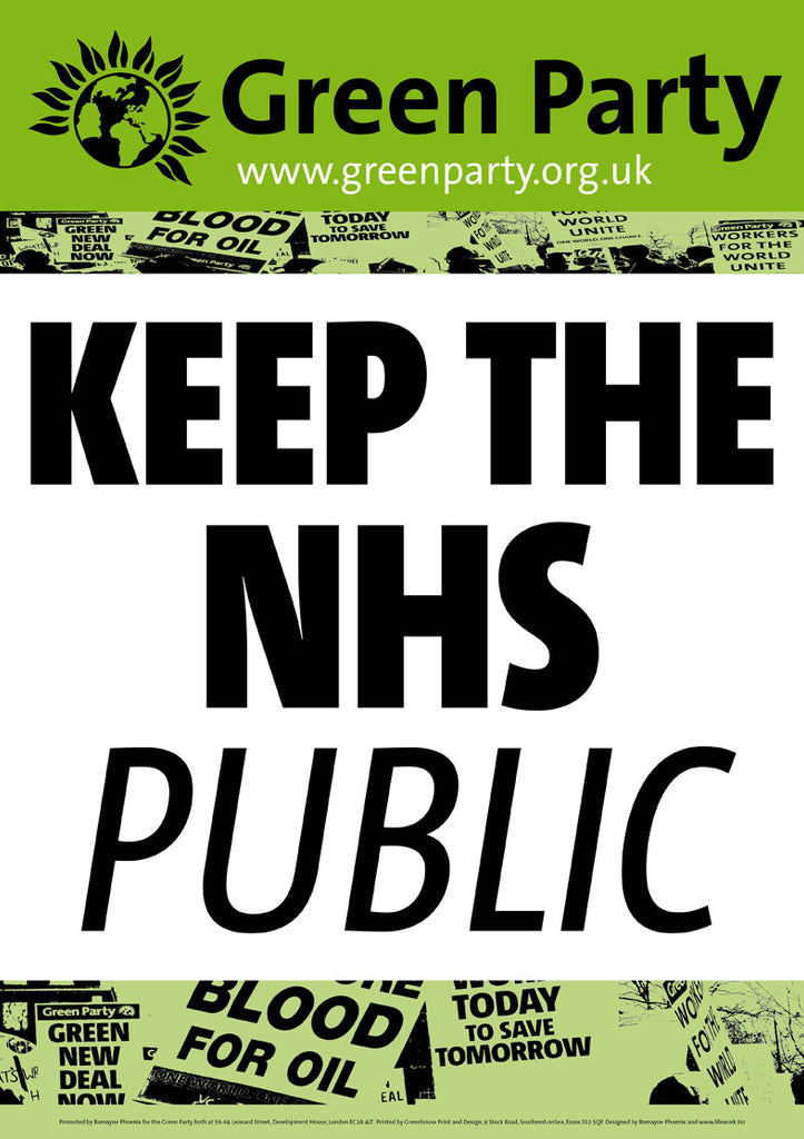 4 A2 Keep The NHS Public Placards/Posters