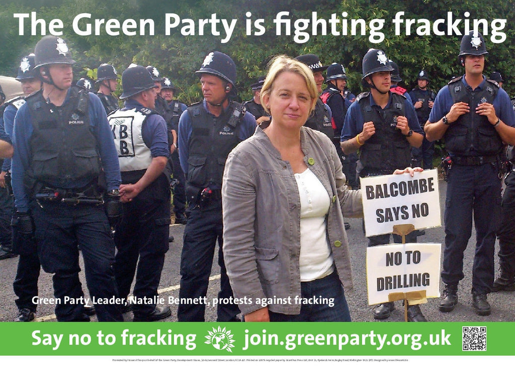 10 A3 Posters: Say No To Fracking