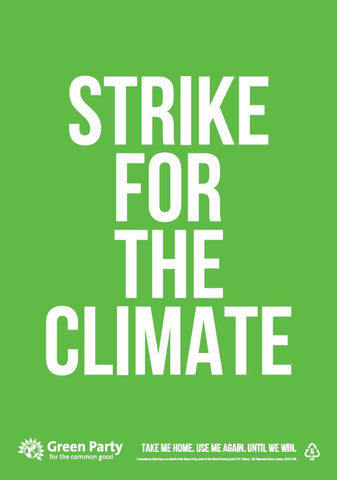 10 x Strike For The Climate placards