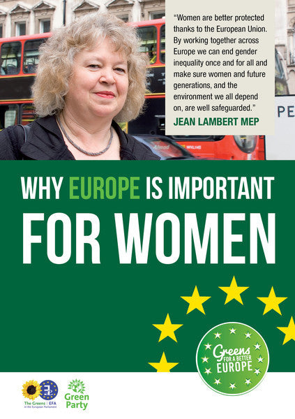 300 x A5 4pp Leaflet: Why Europe is Important for Women