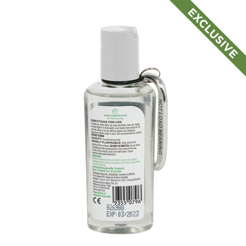 Elyptol Antimicrobial Hand Sanitiser Gel 60ml with Carabiner