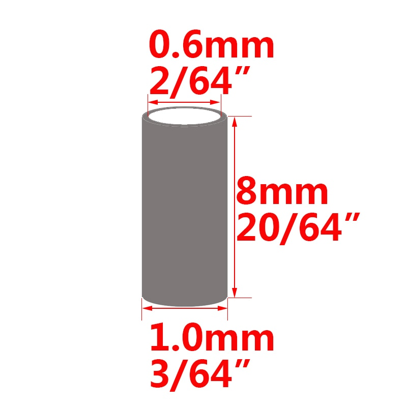 Line crimp Water 4 tube sizes Tackle Metal Wire Sea Pond Sleeve Useful