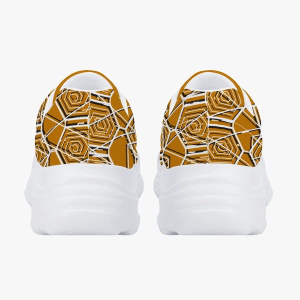 Tribal Gold Majestic Sneakers