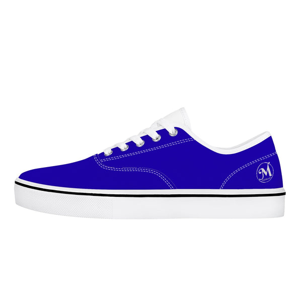 Majestic Blue Plain Shoes