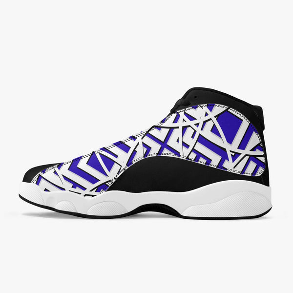 Majestic Bold High Top Leather Basketball Sneakers