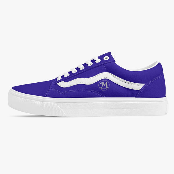Majestic Blue Wave Sneakers