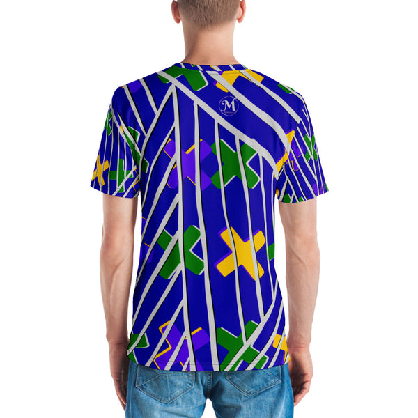 Gold and Green Crosses Men's T-shirt