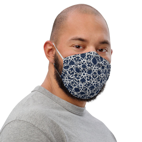 Majestic Blue Premium face mask