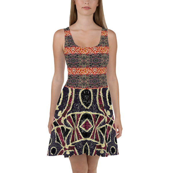 African Themed Tribal Dress