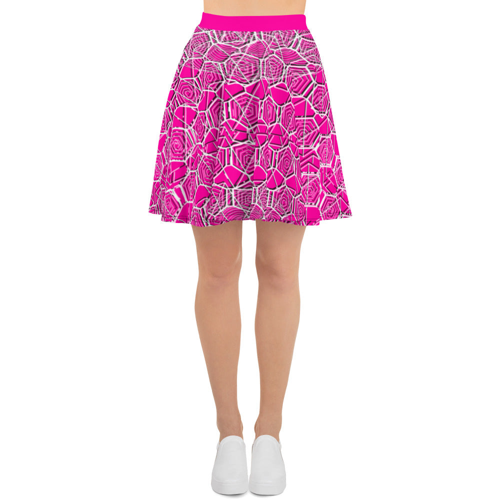 Tribal Pink Summer Skirt
