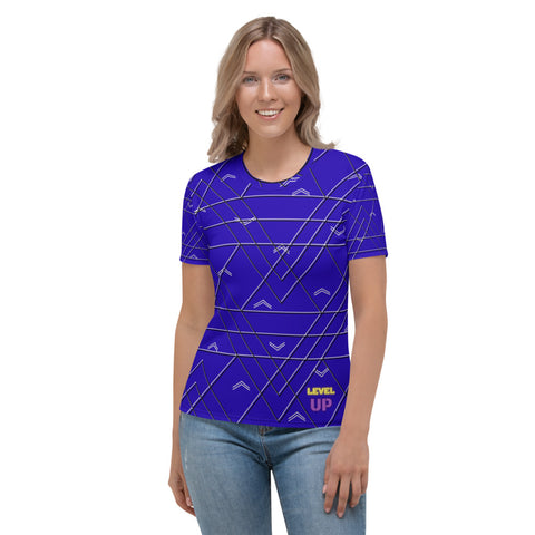 Level Up Majestic Blue Women's T-shirt