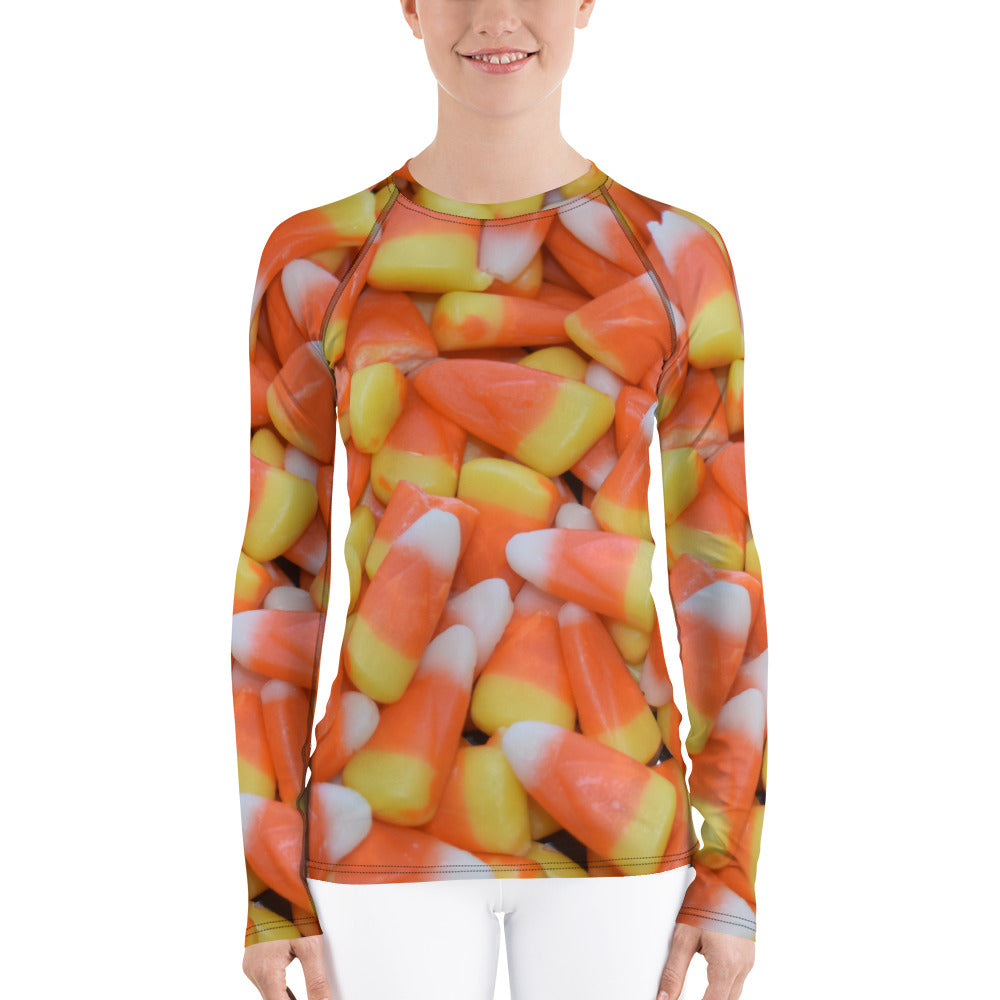Candy Corn Women's Long Sleeve T-Shirt