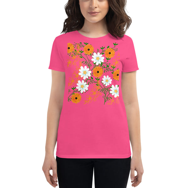 Tropical Flowers t-shirt